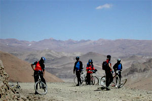 Mountain biking tours in Tibet